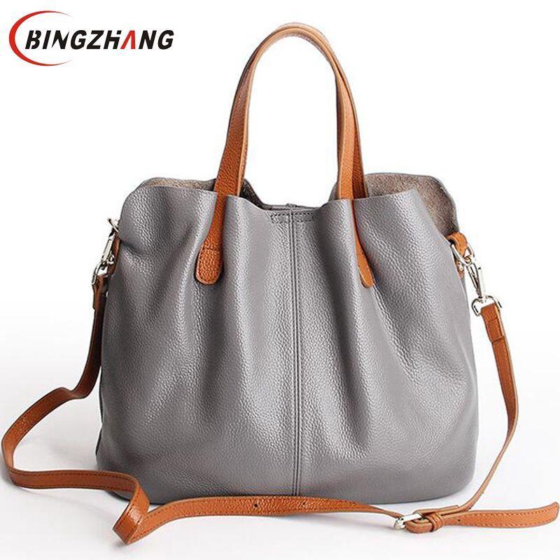 5e93c766b8f Luxury Women handbag Women s leather bags brands famous designer women s  shoulder bags bolsa feminina women large handbag L8-128