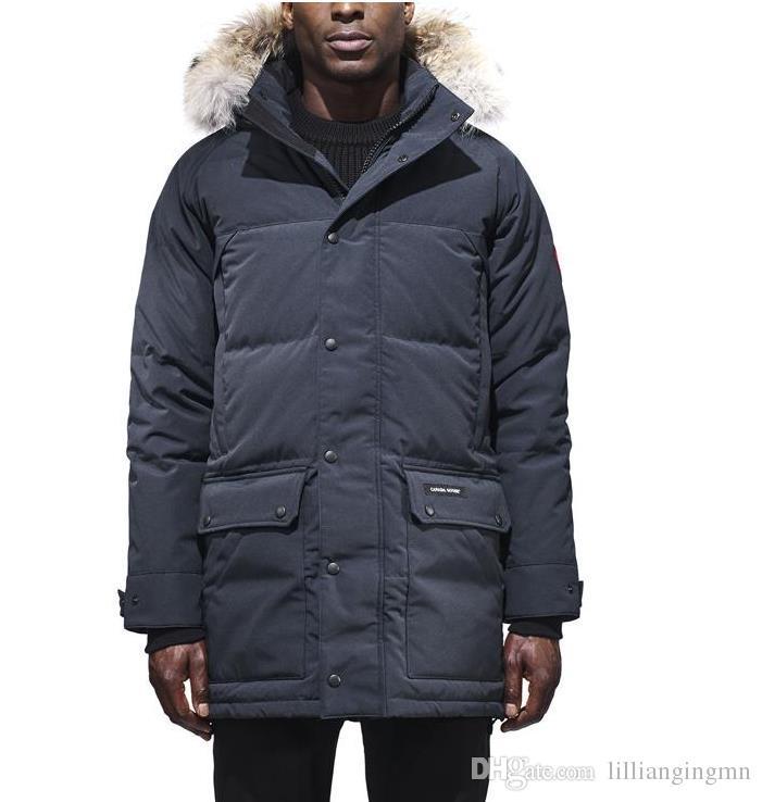 Großhandel E45 Emory Parka Marke Top Kopie Männer Winterjacke Männer Dünne  Jacke Winter Beste Qualität Warm Plus Größe Mann Unten Parka Arctic Coat  Von ... c476430acd