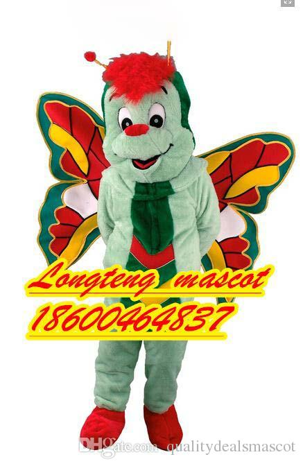 Wholesale Butterfly Costume Mascot For Adults Christmas Halloween Outfit Fancy Dress Suit Real Picture School Uniforms Abba Costumes From