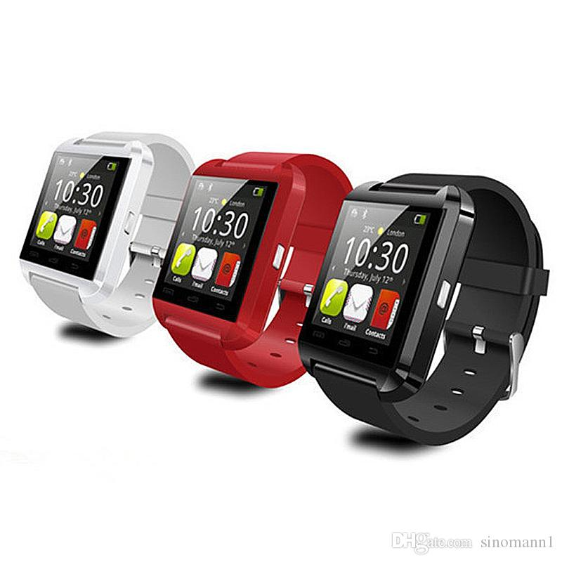 u8 smart watches Bluetooth U8 Smartwatch Wrist Watches With Altimeter For iPhone 6 Samsung S6 Note 5 HTC Android Phone