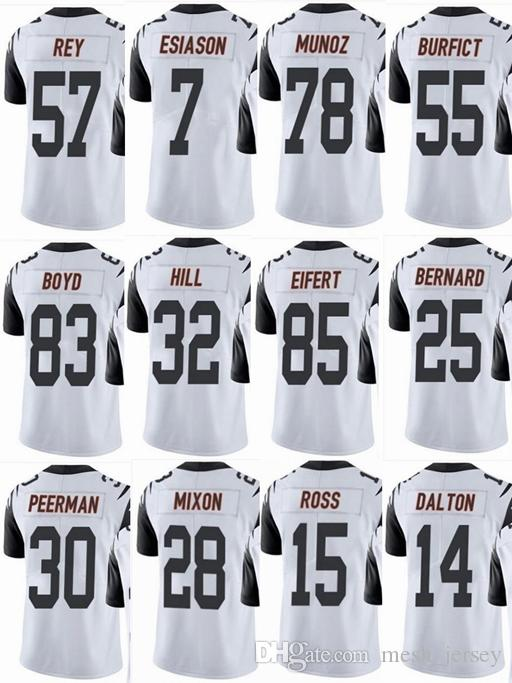 2018 Bengal Cincinnati  18 Aj Green  14 Andy Dalton  85 Tyler Eifert  55  Vontaze Burfict  7 Men Women Youth Color Rush Elite Football Jerseys From  ... 125ddf0d3