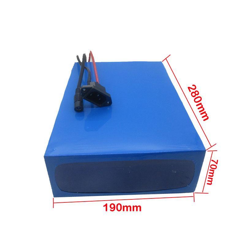 Batterie de haute qualité 72V 20AH Scooter 72V 20.3AH Batterie au lithium électrique utilisation NCR 29PF 2900mah Cellule 40A BMS Taxe douanière gratuite
