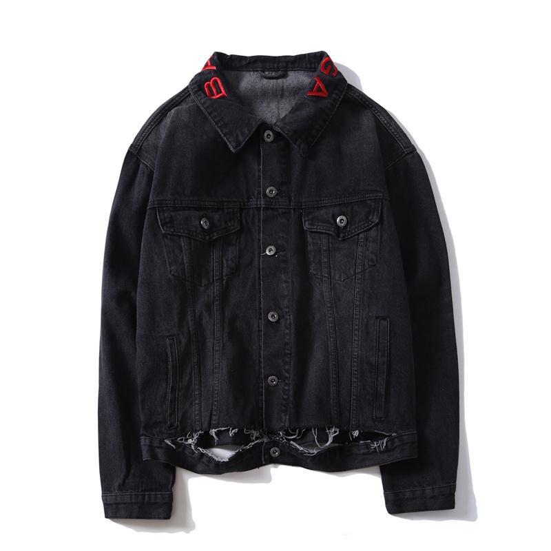 Men Cowboy Coat Brand Designer Sweatshirt Hoodie Women Jacket Long ... 114d159e3