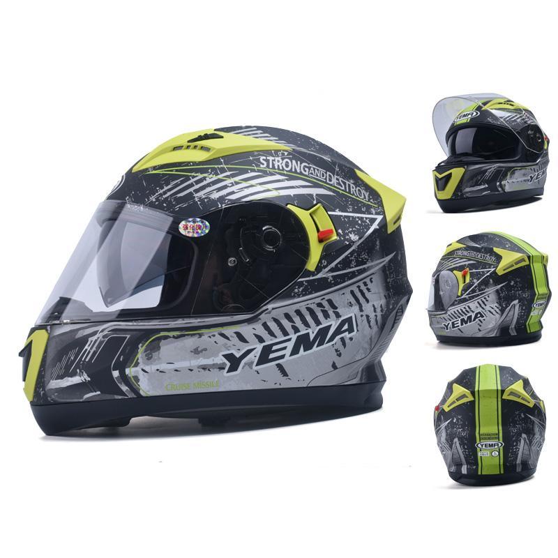 YEMA-830 Motorcycle Helmet motocross racing helmet off road motorbike full face moto cross ATV Bicycle helmet Casque De Moto