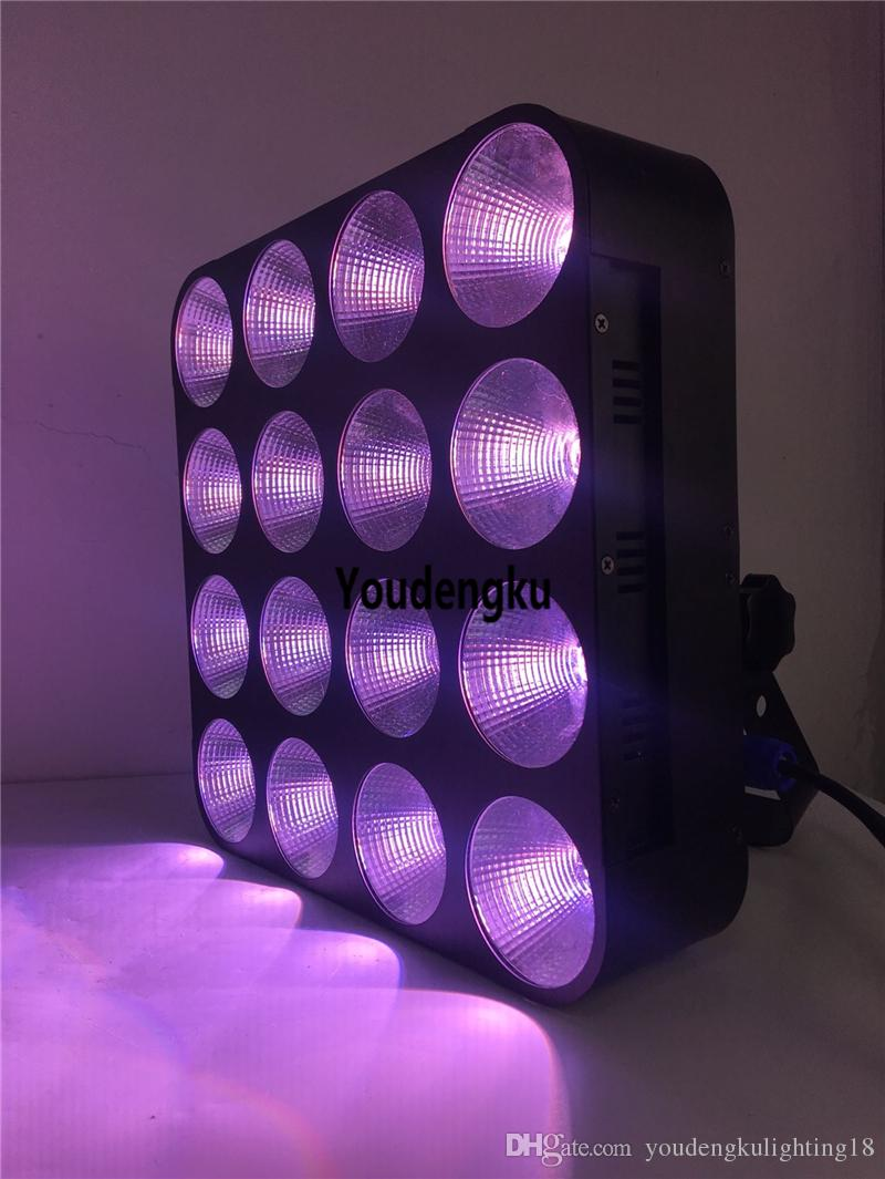 4x4 Rgb Matrix Audience Blinder Dmx Rgb Led Light 16x30w Rgb 3 In 1 Cob Led Matrix Strobe Blinder Light For Stage Show Back To Search Resultslights & Lighting