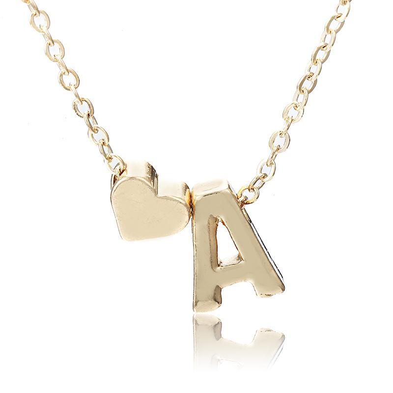fe4f1aa8d1c7 Compre Encantos Tiny Golden Color Inicial Collar Letra Gargantilla  Iniciales Nombre Collares Colgante Para Mujer Niña Mejor Regalo De  Cumpleaños X6 A  19.24 ...