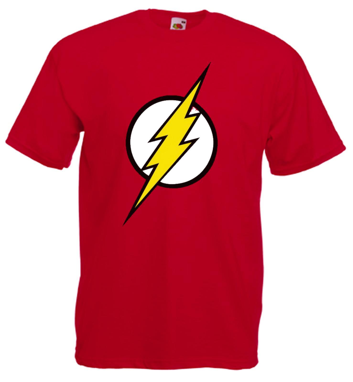 1851db031 Compre Flash Logo T Camisa Colete Camisola Com Capuz Com Tiras Top De Tiras  Solto Ou Ladyfit Legal Casual Orgulho T Shirt Homens Unisex Nova Moda De ...