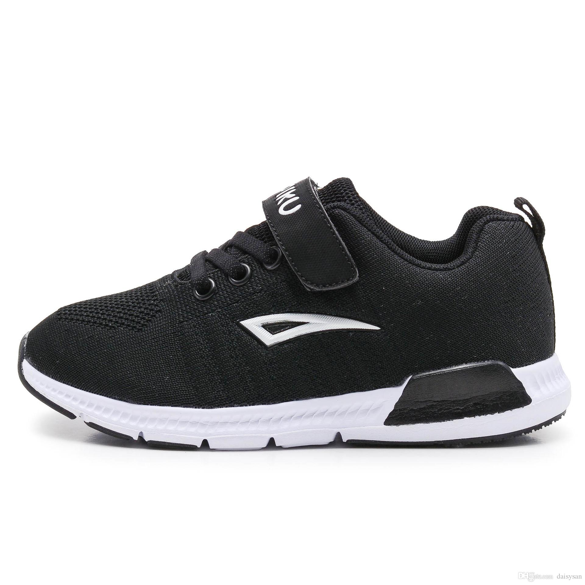 41154bb3c 2018 New Children Shoes Boys Sneakers Girls Sport Shoes Size 28 38 Child  Leisure Trainers Casual Breathable Kids Running Shoes Childrens Running  Trainers ...