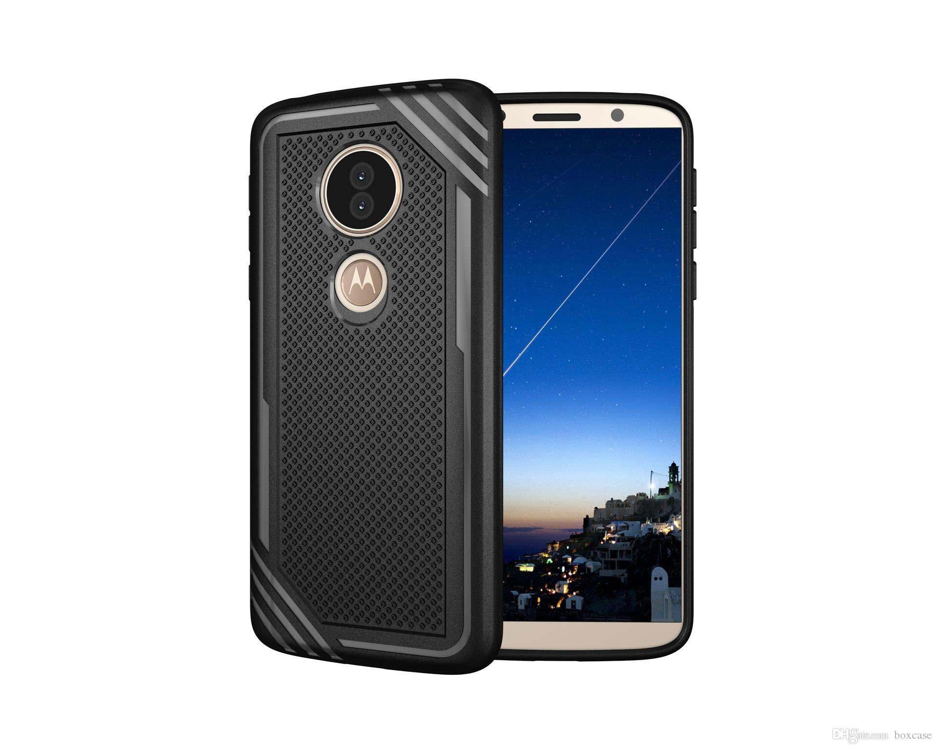 new concept 165e6 0d87a Hard Back Cover for Motorola Moto E5 X5 Z3 Play Case Phone Protective Shell  Shockproof Heavy Duty Rugged Armor