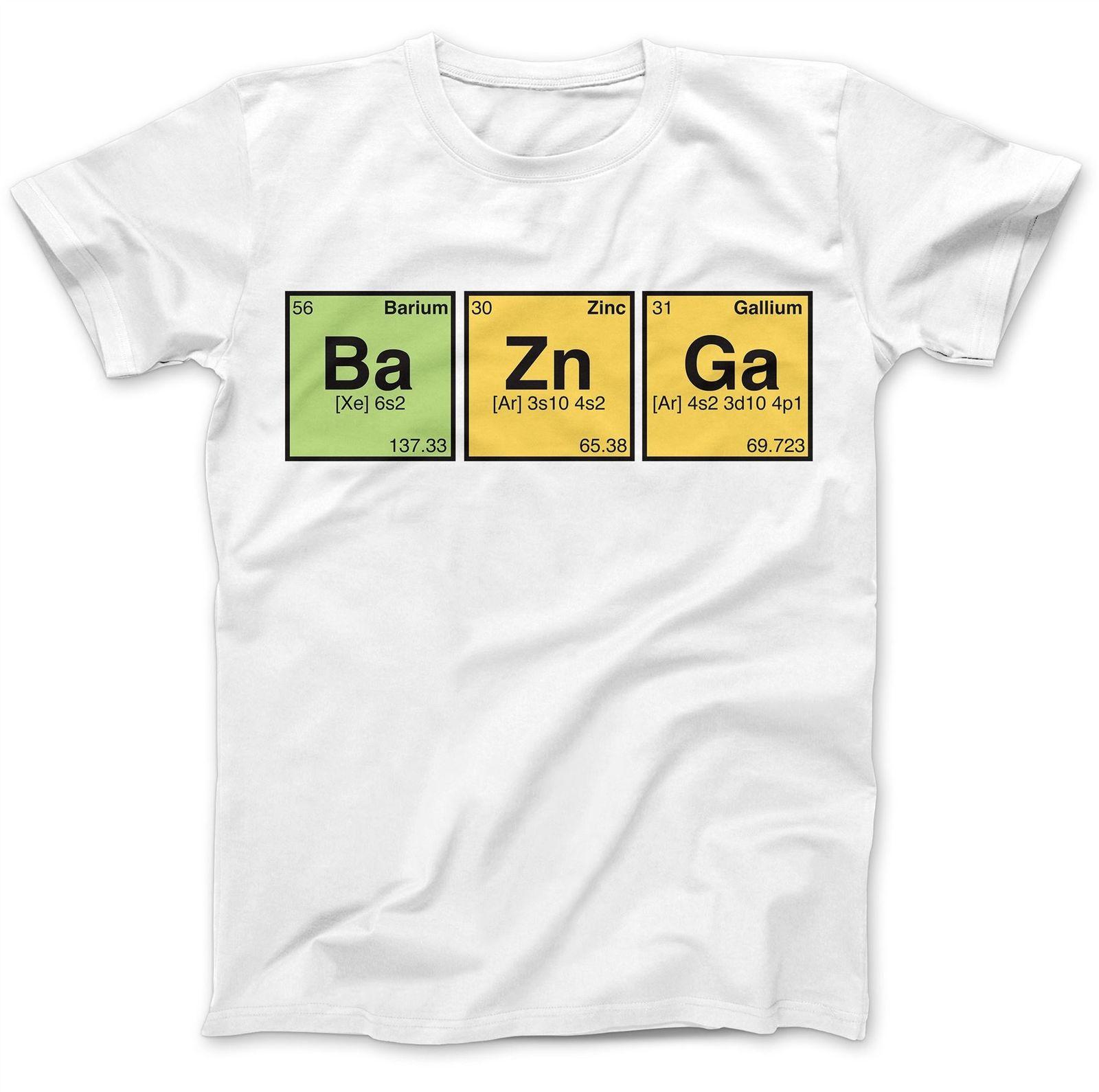 Bazinga Periodic Table T Shirt 100 Premium Cotton Tee Shirt Designs