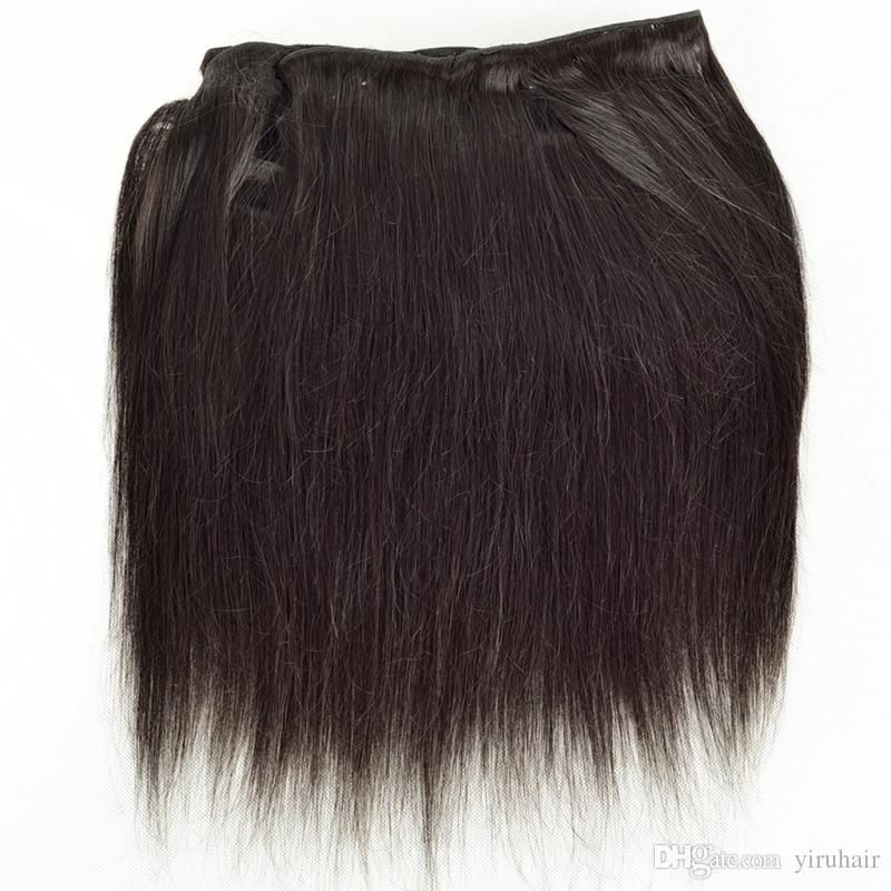 Brazilian Virgin Human Hair Peruvian Indian Malaysian Straight Hair Hair Extensions One Bundle Double Wefts