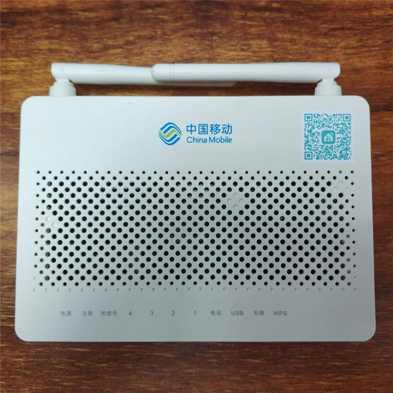Original 100% New HUAWEI Wireless Terminal HS8545M5 GPON ONU ONT 1GE 3FE  1TEL Usb Wifi With HUAWEI And China Mobile Logo