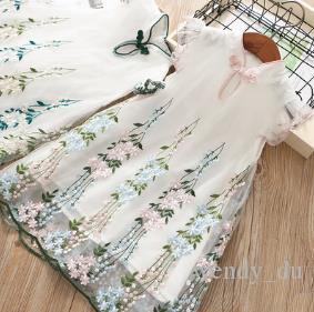 f0102903815b Baby Show Summer New Children s Clothing Embroidery Ethnic Wind ...