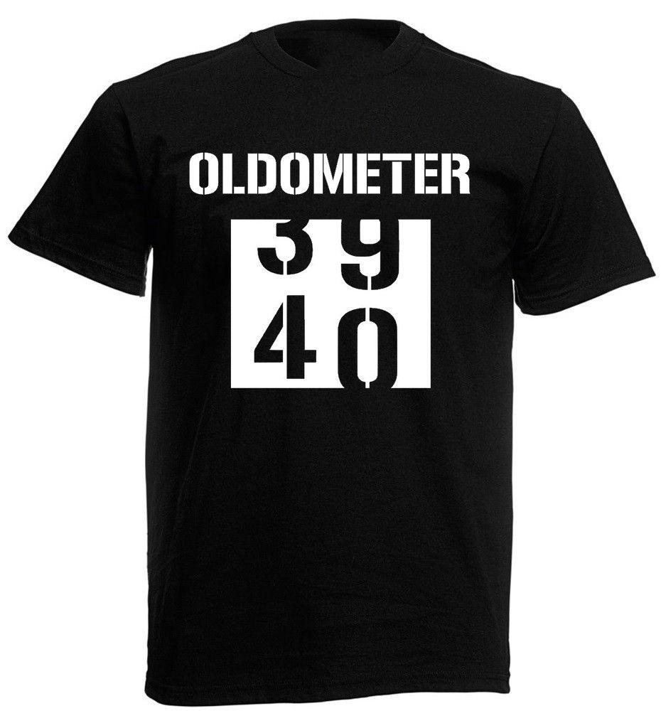 Oldometer 40th T Shirt Funny Mens Birthday Gifts Presents Ideas For Him Create Movie Shirts From Spreadshirt 1142