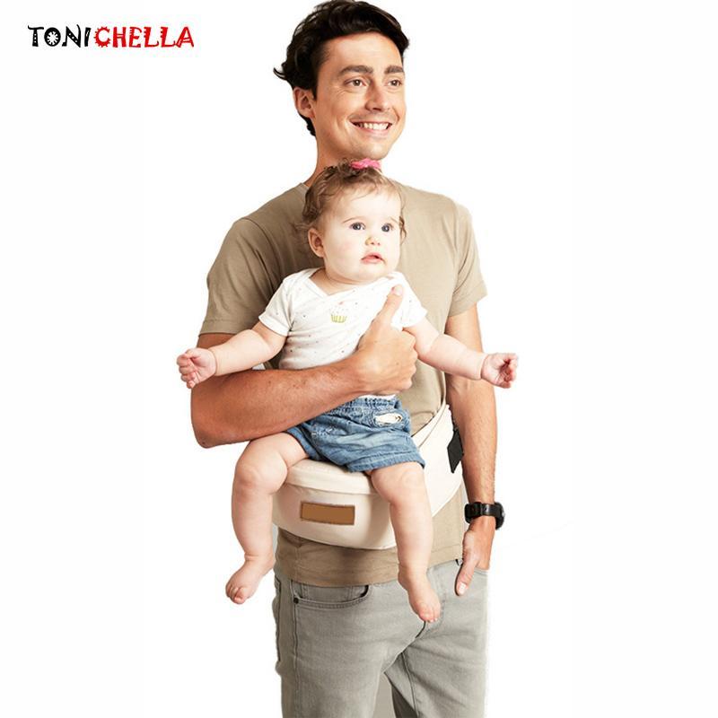 26c8e4e1d25 Baby Carrier Waist Stool Walkers Infant Toddler Sling Hold Waist ...