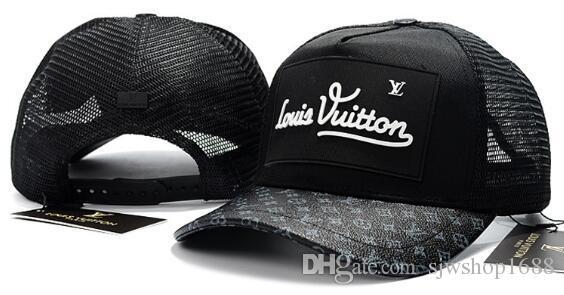 2018 New Fashion Hot Sale High Quality Hip-Hop Cap Men s Women s Snapbacks  Hats Baseball Sports Caps Net Cap Adjustable c0f166d9f