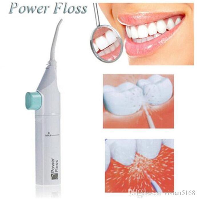 b24b9b5b8 Compre Cabos De Jato De Água Dental Fio Dental Portátil Dente Sem Baterias  De Limpeza Dental Clareamento Dos Dentes Kit Cleaner Frete Grátis De  Vivian5168