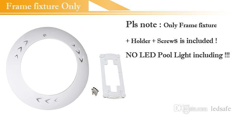 Lampada a LED piscina completamente in resina AC 12V RGB Luce bianca fredda Colore IP68 Impermeabile esterno Apparecchio illuminazione subacquea 18W 42W