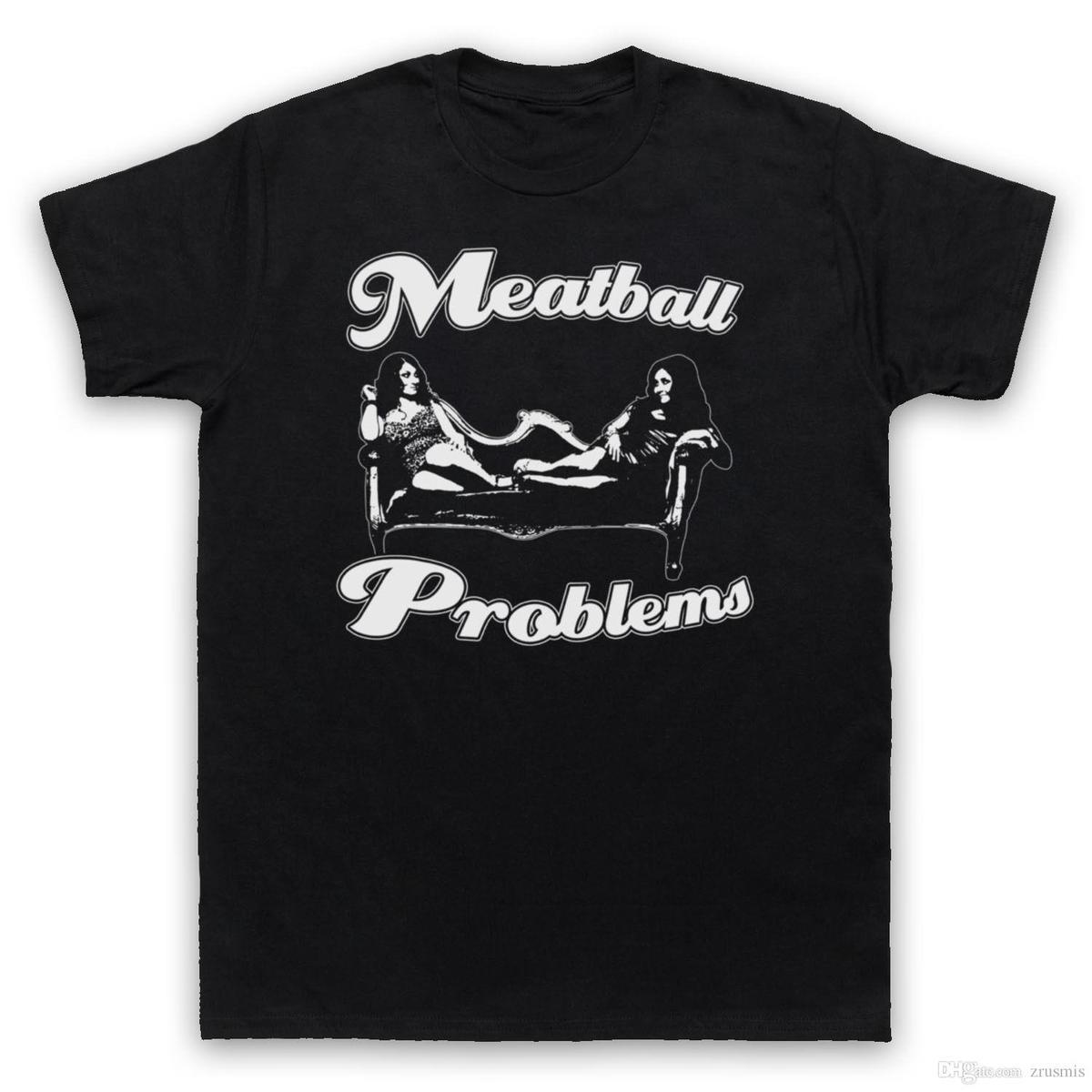 the latest 6ba73 2ce2e MEATBALL PROBLEMS JERSEY SHORE GUIDO UNOFFICIAL T-SHIRT MENS LADIES Fashion  Men T Shirt Harajuku Funny Tops