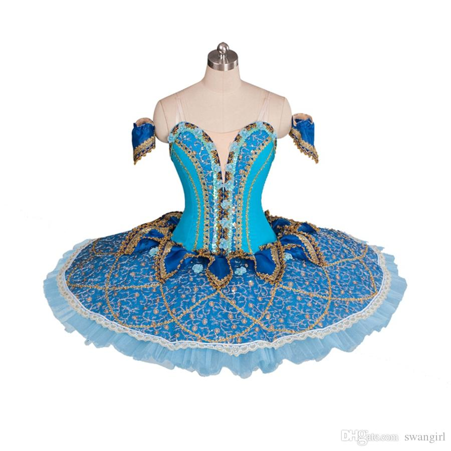 4d905d75815c 2019 Adults Professional Ballet Tutus Blue Bird Performance Tutu Costume  Raymonda Platter Pancake Ballet Tutu Skirt BT9061 From Swangirl, $392.57 |  DHgate.