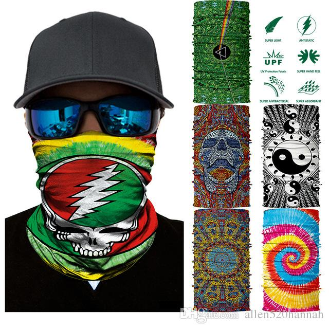 3D Seamless Buffs Bandana Rocking Magic Headband Anti UV Neck Warmer Scarf  Half Tube Face Mask Multifunctional Headwears Bandana Snowboard Head Scarves  Fur ... a51e0df0431