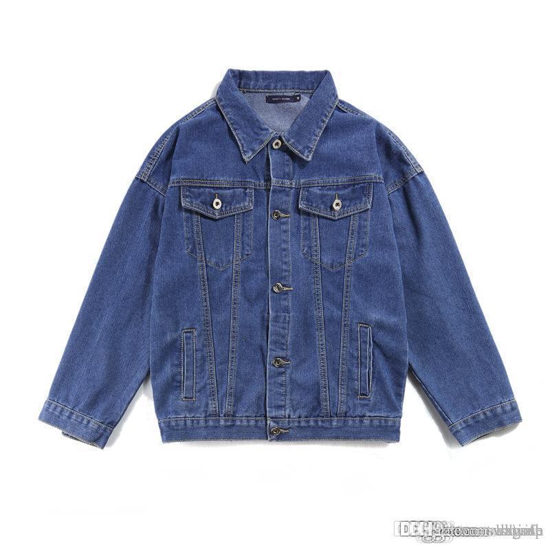 Top Manteau Veste Jeans Tops Vente Bleu Qualité Harajuku Sweatshirts Chaude Hop Marine Hommes Femmes Automne D'été Printemps Et Hip tsrdhQ