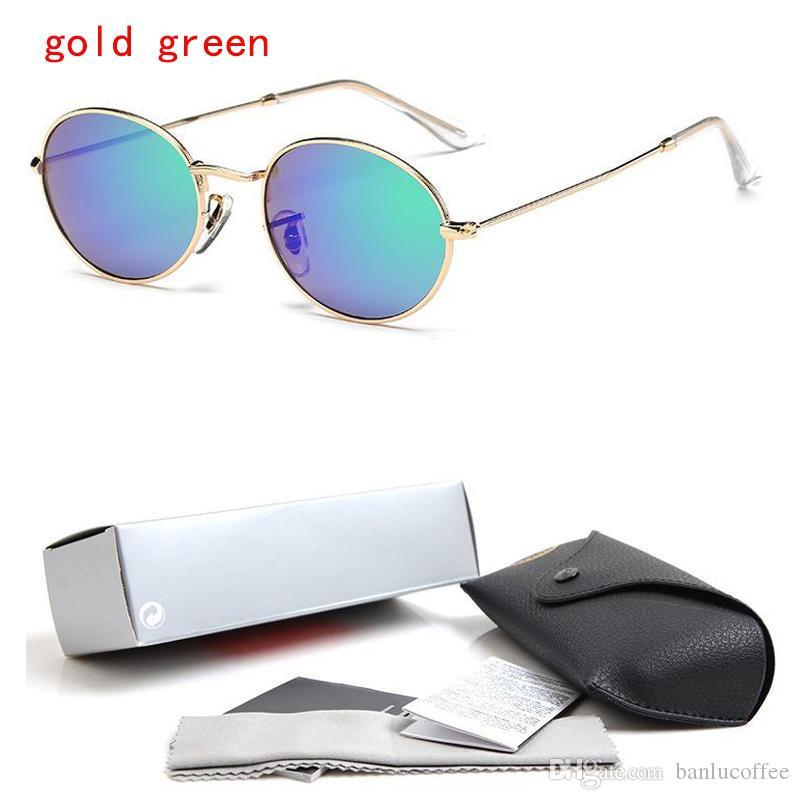 02c2dab19 Compre 3547 Moda Barato Pequeno Rodada Óculos De Sol Para Homens Mulheres  Designer De Marca Do Vintage Óculos De Sol Óculos Shades Oculos S330 De ...