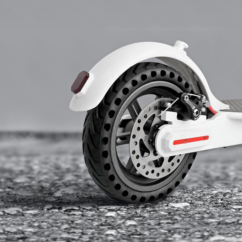 21cm Xiaomi Mijia M365 Scooter Skateboard Tyre rubber Solid Hole Tires  Shock Absorber Non-Pneumatic Tyre Damping Tyres Wheels Accessories
