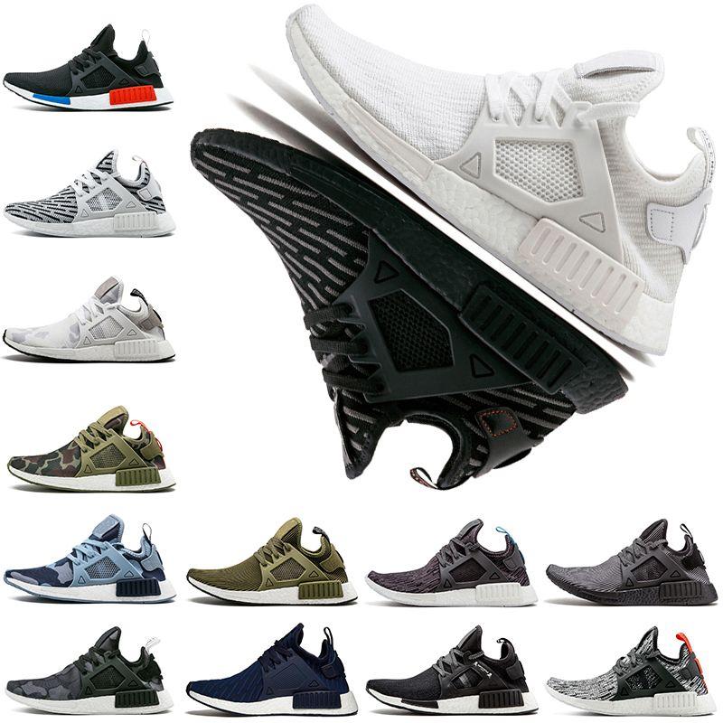 49e3f9b695b1b XR1 Running Shoes Primeknit OG Camo Mastermind Japan Olive Black ...