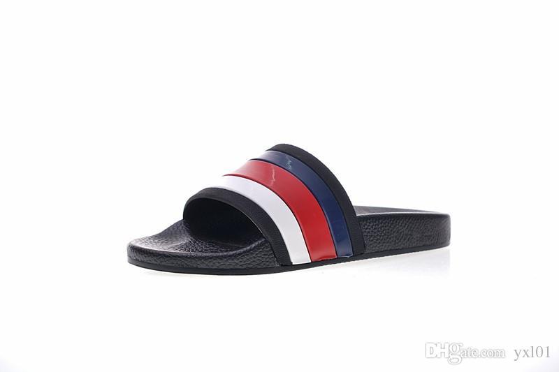 0490d6318d8f 2019 2018 New Designer Tiger Slide Top Walking Slippers Women Mens Beach  Sandals Luxury Shoes Casual Fashion Slides Flip Flops Slipper Size 35 44  From Yxl01 ...
