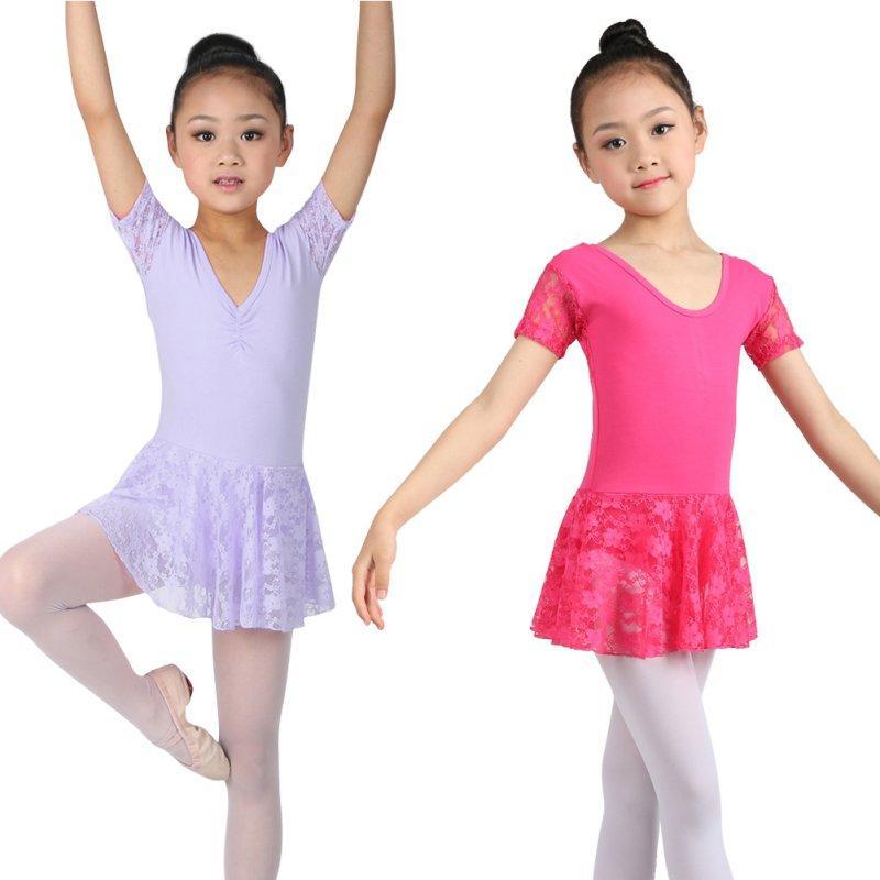 2f89796fa608 Cute Girls Ballet Dress For Children Dance Clothing Kids Ballet ...