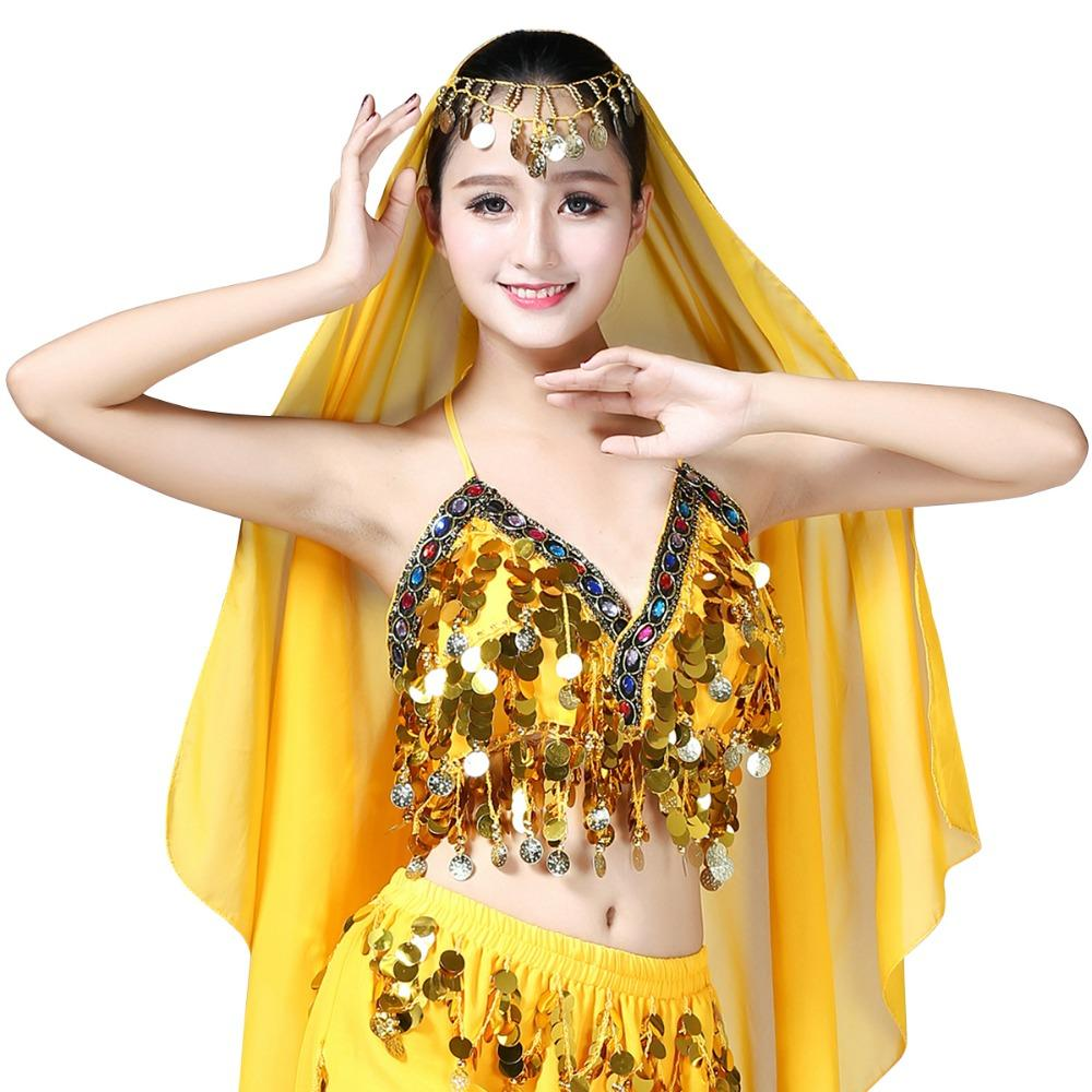 0113efd4c9 2019 Sexy Women Belly Dance Costumes Sequin Bra Top Clothes Bras Handmade  Sequins Tassel Beads Ladies Fashion Design Clothing From Donahua