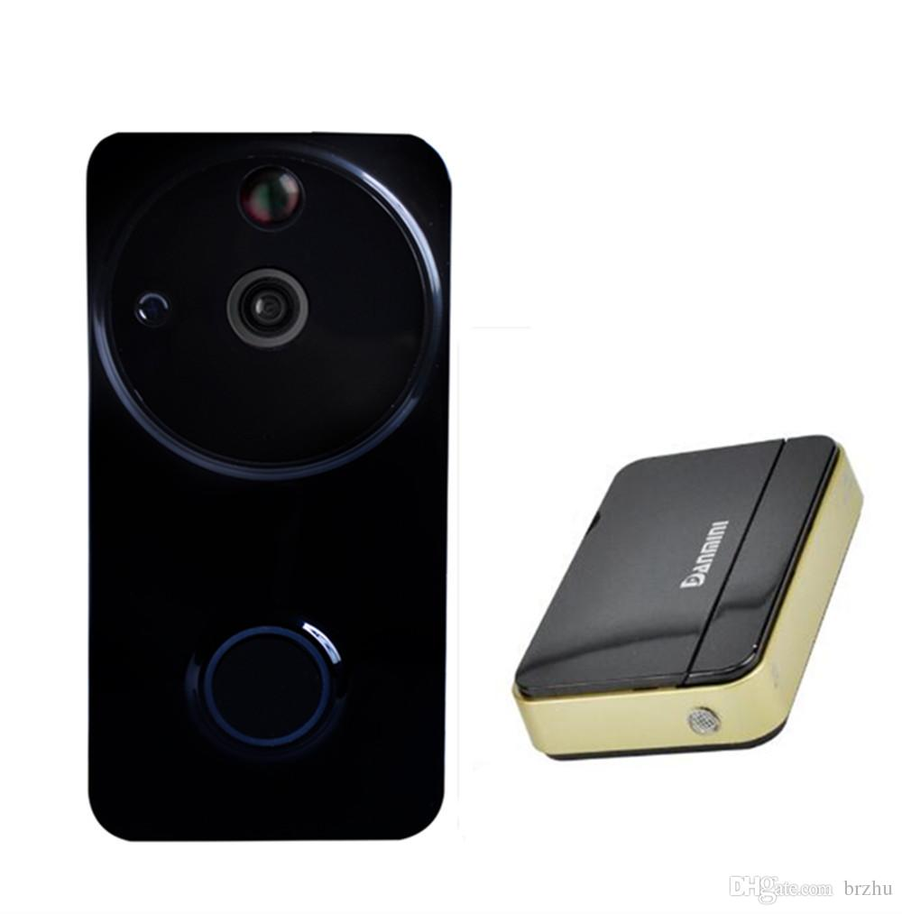 720P wifi video door phone with Chime Motion detection App remote control