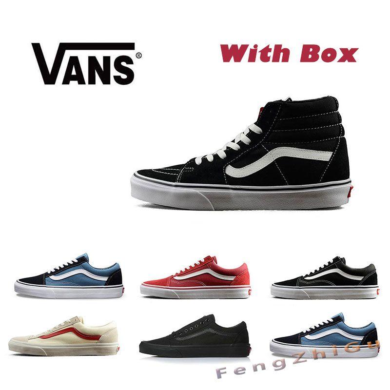 579bba977d1 Vans Old Skool Black Logo White Skate Shoes in 2018 Vans