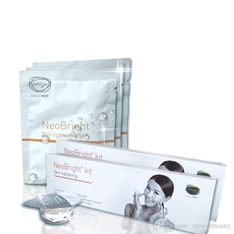 2018Huan Oxygen Bubble Set di prodotti Essenza Original Liquid Korea Beauty Equipment Prodotti di supporto Whitening Rejuvenation Anti-aging Care