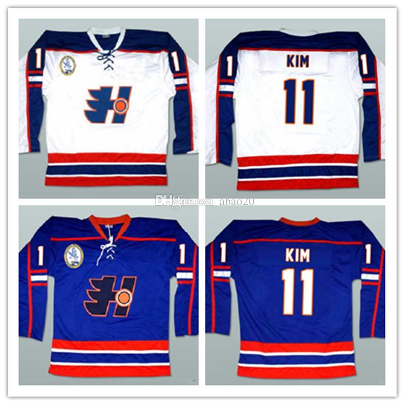 2018 Park Kim Goon Movie Halifax Highlanders Ice Hockey Jersey Mens Embroidery Stitched Customize Any Number And Name Jerseys From Abao20 5226