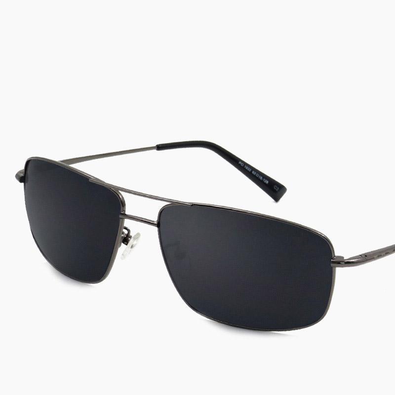 762d876c33f8 Vazrobe Rectangle Sunglasses Men Polarized Driving Sun Glasses For Man  Spring Hinge Black Lens Wide Face Anti Polar UV400 Fish Dragon Sunglasses  Vintage ...