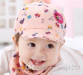 2018 Bebek Şapka Sevimli Karikatür Baskı Yürüyor bebek Kap Küçük Araba Beyzbol Şapkası Gorro Infantil Fotoğrafçılık