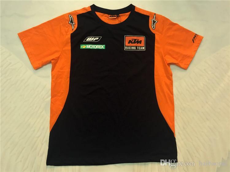 98f87df7836b 2018 Moto GP KTM HRC VR 46 Polo Racing T-shirt NEW Polo Shirt Racing T-shirt  Online with  27.21 Piece on Baibaorui s Store