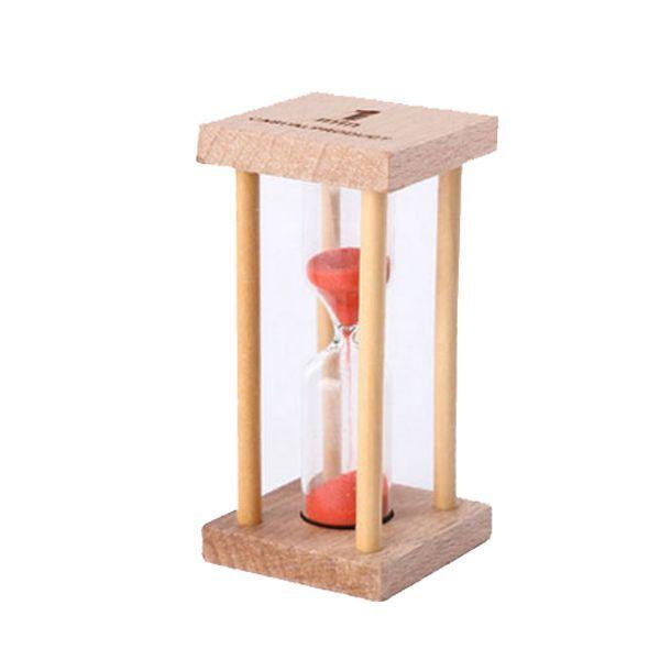 706a0bd463e Compre SZS Hot Madeira + Vidro + Areia 1 Minuto Pequeno Quadrado Timing  Hourglass De Bdhome