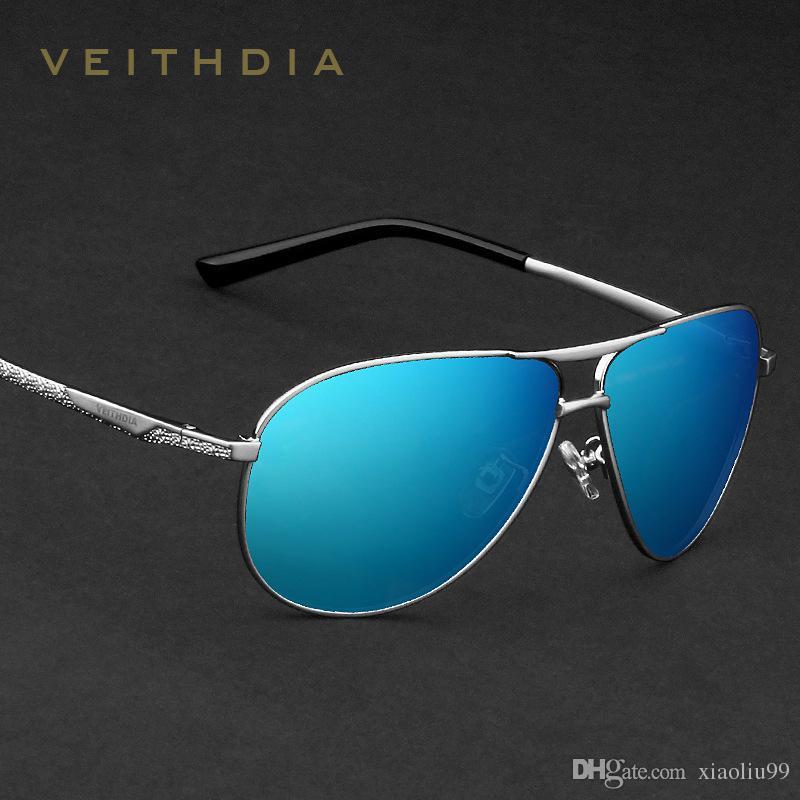 e0b6514d921 VEITHDIA Brand Classic Fashion Men s Sunglasses Polarized Mirror ...