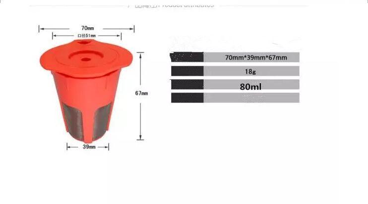 K-Кубок K-графин многоразовые многоразового использования кофе фильтр капсула для Keurig машины кофе чай инструменты кофе фильтр стручок