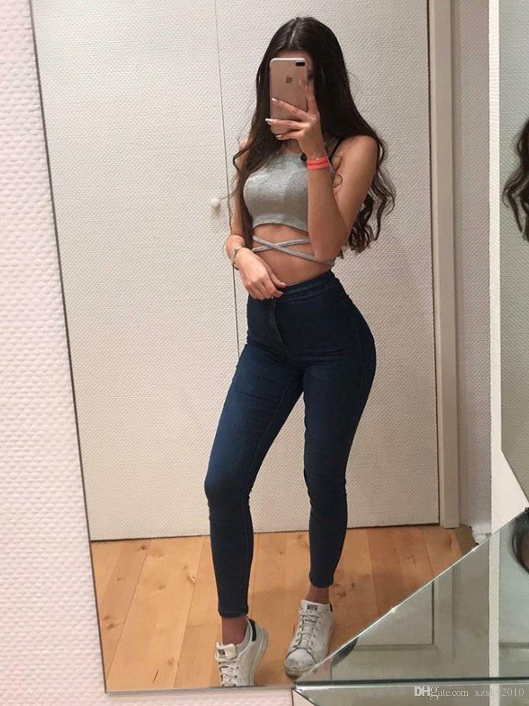 5a6d67ec56 Compre Jeans Sexy De Mujer