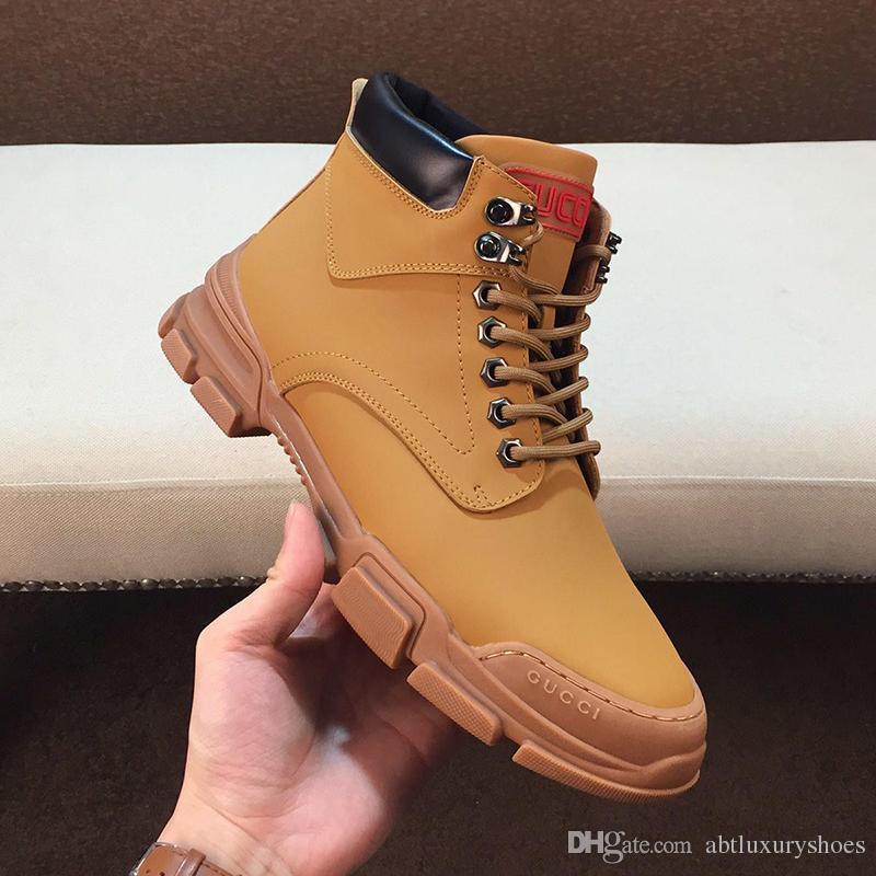 Acheter Hiver Hommes Bottes Automne Hiver Hommes Chaussures Cheville Botte  De Neige Chaussure Travail, Plus La Taille Vintage Style Chaussures Hommes  Casual ... dde09899c40