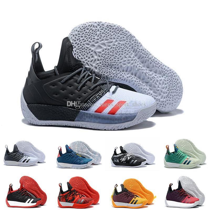 online retailer 98ebc 2f768 2019 Vol.2 Mens Basketball Shoes James Harden 2 Wolf Grey Sports Sneakers  Training Boost Wholesale Drop Shipping From Mens sport shoes,  105.73    DHgate.Com