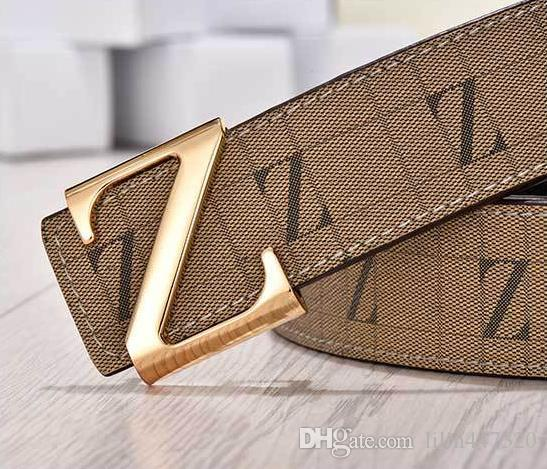 2018 Belt Pointed Z buckle belts designer belts fashion real leather belt luxury belts for mens and women business wasit belt