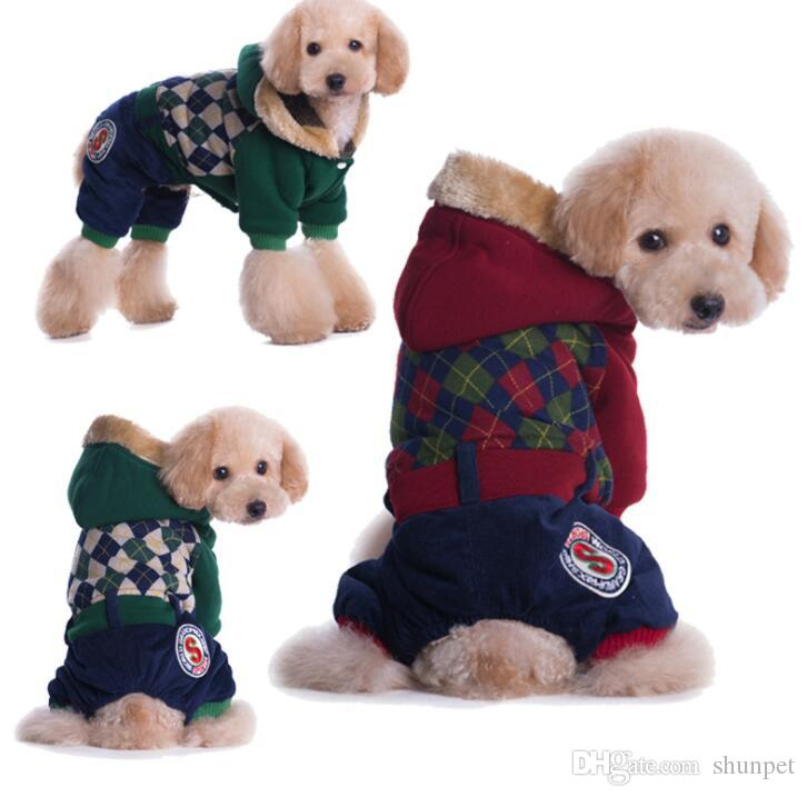 New British Style Autumn Winter Pet Dog Coat And Jacket Clothes For Small Medium Large Pet Dog Pet Products