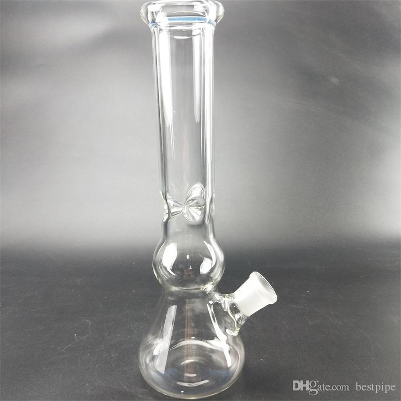 14.5mm desmontable conector vaso de precipitados bong hecho a mano de la cachimba de vidrio bong borosilicato bong clavo aceite tipo RIGS vidrio tubo de agua percolador.