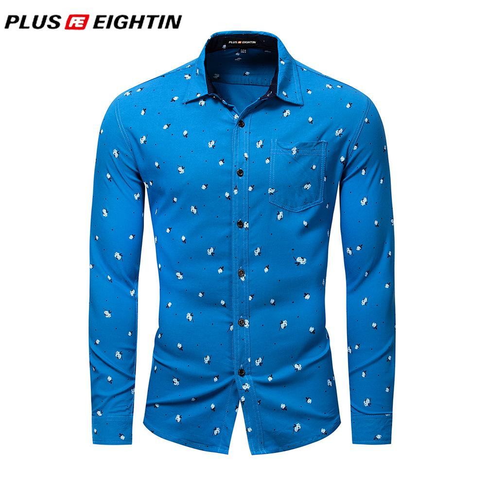 2019 Plus Eightin New Mens Casual Business Brand Clothing Full