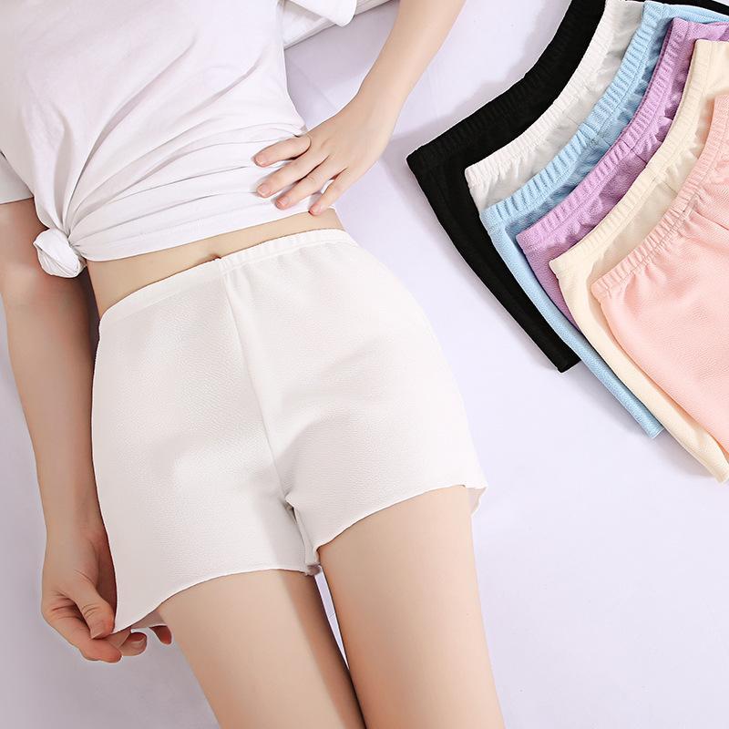 Großhandel Sicherheit Kurze Hosen Frauen Shorts Unter Rock Weibliche Kurze Strumpfhose Atmungsaktiv Nahtlose Unterwäsche Mitte Taille Hose Von